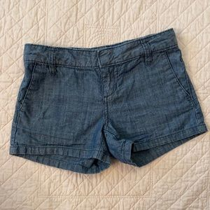 Old Navy Chambray Chino Shorts